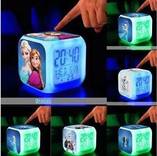 Princess Anna/Elsa Frozen LED DIGITAL Alarms Clocks Kids Watch Gift Watches Sale