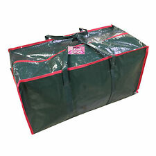 CHRISTMAS DECORATION STORAGE BAG ZIP UP FESTIVE TREE CASE SACK CONTAINER XMAS