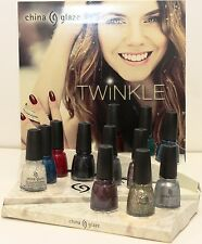 "China Glaze -""Twinkle"" Christmas 2014 Collection - Choose your Favorite colors"