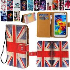 """Universal Wallet Card Slot Leather Stand Case Cover FIT 5.5""""-6.1"""" Mobile Phones"""