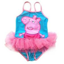 AU STOCK GIRLS 3-6Y PEPPA PIG SWIMWEAR ONE PCS SWIMSUIT BATHERS SWIMMER GS008