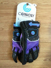 NIP NEW on Card CONNELLY Performance Womens SP Gloves Waterski Jetski PURPLE