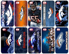Denver Broncos white back cover case for iPhone 4, 4s Fast Free Shipping