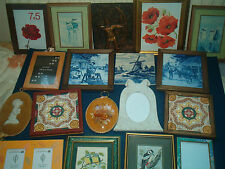 WALL TILES, PICTURES, PLAQUES & FRAMES --- click on the site to chose and order