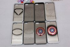 Super Hero Logo Plated (Imitation Metallic) Plastic Hard Case For iPhone 5/5S