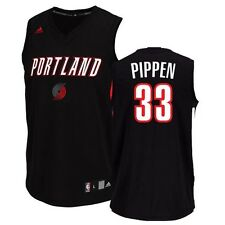 Scottie Pippen Portland Trail Blazers ADIDAS Select Tank (Black) Jersey Men's