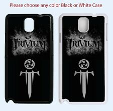 New Samsung Galaxy Note 4 case cover TRIVIUM Rock metal