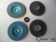 70 X 100mmX15mm  Flap Sanding Grinding Polishing Wheels Discs Factory Clearance