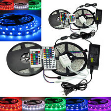KIT! 5050 RGB SMD LED Strip Light + IR Remote Controller + Power Supply Adapter