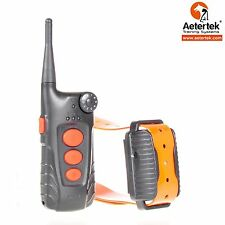 AETERTEK stubborn dog shock  collar 918C remote auto anti bark waterproof 550M