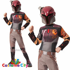 Sabine Wren Officiel DISNEY STAR WARS REBELLES enfants Filles Costume pa