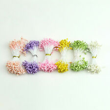 Flower Artificial Double Heads Stamen Pearlized Craft Cards Cakes Decor Floral