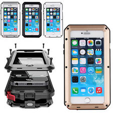 For iPhone 6 Case 6 Plus iPhone 5S 5 Waterproof Shockproof Aluminum Metal Cover