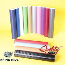 3D CARBON FIBRE VINYL WRAP RHINO HIDE *AIR FREE* 0.75 METRE SIZES A4 SHEETS