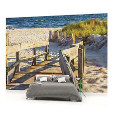 Walkway to the Beach PHOTO WALLPAPER WALL MURAL ROOM DECOR (1214VE)