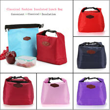Thermal Cooler Insulated Lunch Carry Tote Convenient Picnic Storage Pouch Box