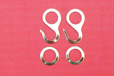 Hooks and rings for cuckoo clock chains,    varitions