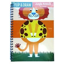 Flip & Draw - Create your Characters - Flip, Colour & Draw - 12 Designs