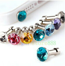 """Diamond 3.5MM Anti Dust Plug Cap Stopper FOR PC Tablet Ebook Reader 8"""" 8in 4th"""