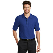 Port Authority Tall Silk Touch Polo with Pocket. TLK500P Mens