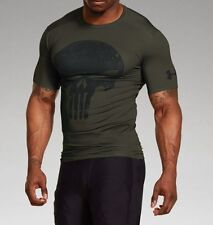 PUNISHER RIFLE GREEN New Under Armour Men's Alter Ego Compression Shirt