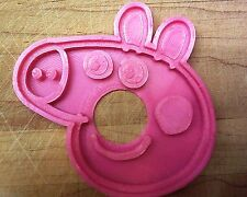 Peppa Pig Cookie Cutter - Choice of Sizes - 3D Printed Plastic