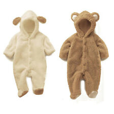 undersell Cute Animal Fleece Coat Boy Girl Baby Clothes Bear Pig Sheep Tops chic