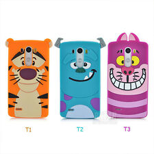 New Arrival Pretty Cute Cartoon Tiger Soft Silicon Phone Cover Case For LG G3