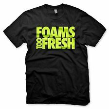 New BLACK Foams Too Fresh T Shirt Inspired By Nike Volt Tennis Ball Foamposite