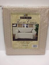 "NEW! SOLID COLOR LOVE SEAT FURNITURE THROW COVER, 70"" x 120"", FREE SHIPPING!"