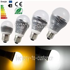 E27 Globe LED Bulb Light Lamp 3W 5W 7W 9W 12W15W Bright Cool Warm Day White 240V