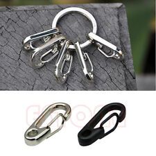 Hot 2Pcs Spring Hook Clip Snap Shackle Stainless Steel Clasps Style Fast Hook