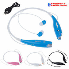 Cuffie Auricolare Wireless Stereo Bluetooth Headset Per Cellulare For iPhone LG