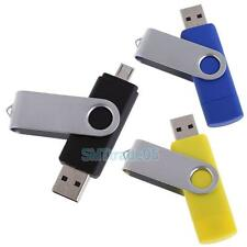 New 16GB Multifunction 2 In 1 U-Disk Micro USB Flash Drive for Android/iPhones