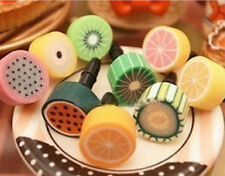 FD229 Colorful Candy Fruit Mobile Phone Dust Proof Plug Apples Iphones Phone 1pc