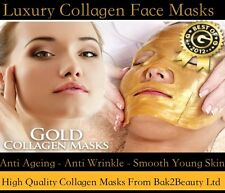 Luxury Golden Collagen Face Mask Advanced Bio Crystal Anti Ageing Pro Skin Care