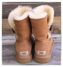 NIB UGG Australia Women Bailey Button Boots 5803 CHESTNUT SIZE 6