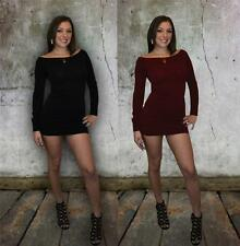 Lot of 2 verna Sexy long sleeve cocktail party evening clubbing mini dresses