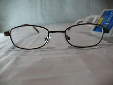 Foster Grant Spare Pair Burgundy Brown Reading Glasses +1.25 1.75 2.00 2.25 2.75