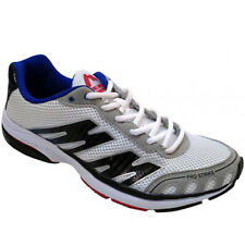 More Mile Pro Strike Running Shoes - White/Blue/Red  Mens Size