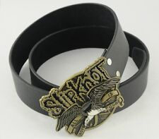 SLIPKNOT Bronze ALL HOPE IS GONE Two Headed Eagle COOL Metal Leather Belt Buckle