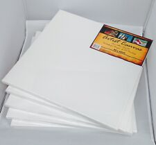 5x Artist Canvas Blank Canvas Wholesale Bulk Lots 3sizes 40x40cm 30x30cm 24x30cm