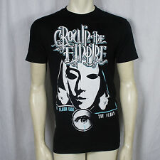 Authentic CROWN THE EMPIRE Band Mask Logo T-Shirt S M L XL 2XL NEW