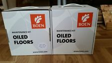 Boen OILED FLOOR MAINTENANCE Kit *Wood Cleaner and Freshener *