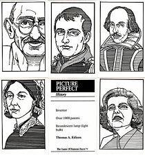 Famous People from History : US game cards