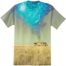 Adult Drama TV Show Breaking Bad RV Desert Scene Sublimation T-Shirt Tee