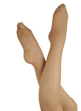 Fiesta Fishnet FULL FOOTED tights NEW. fish net dance tights with spandex ADULT