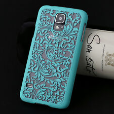 For Samsung Galaxy S4 S5 Note4 Damask Vintage Pattern Matte Hard Back Case Cover