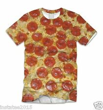 Katy Perry Pepporoni Pizza Fun Sublimation All Over Print tshirt