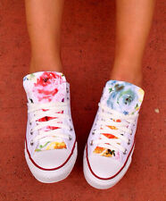Womens Converse Chuck Taylor All Stars FLORAL 5, 6, 7, 8, 9 and half sizes!